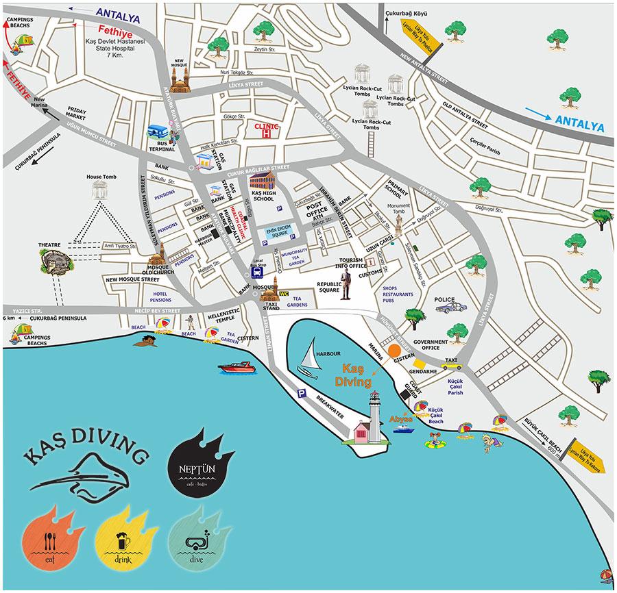 Kas Landkarte